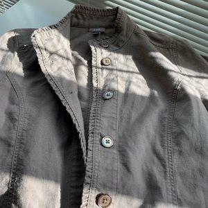 EUC J. Jill Linen Jacket/Blazer (XS loose fit)